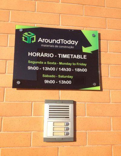 Around Today - Sinalética - Signage