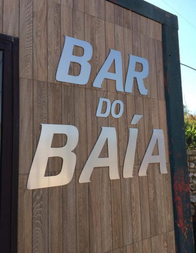 Bar do Baía - Sinalética - Signage