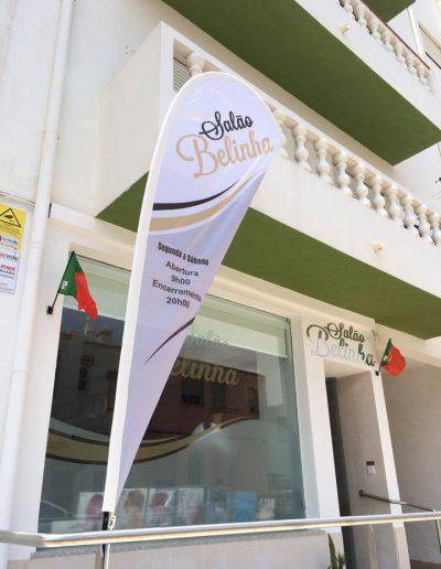 Salão Belinha - Telas & Bandeiras - Canvas & Flags