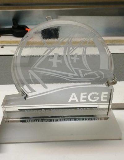 Agrupamento Escolas Gil Eanes - Acrílico - Acrylicn