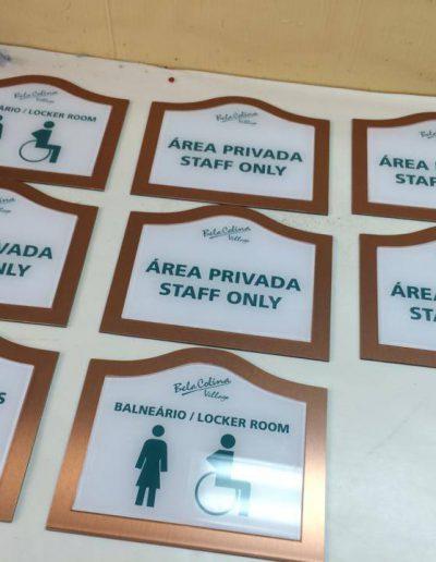 Bela Colina Village - Sinalética - Signage