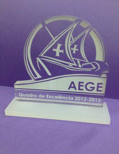 Agrupamento Escolas Gil Eanes - Acrílico - Acrylic