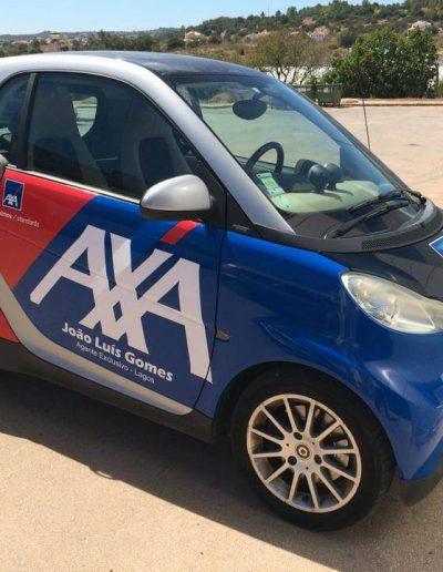 AXA - Decoração de Viaturas - Vehicle Decor