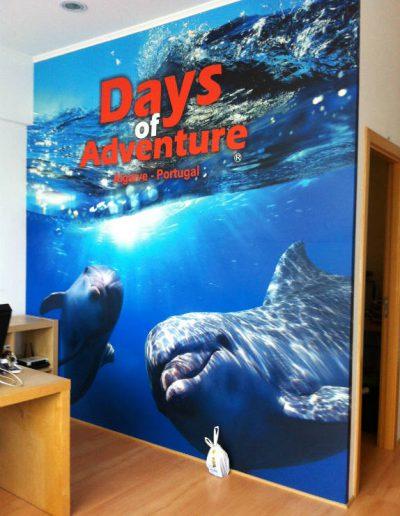 Days of Adventure - Papel de Parede - Wallpaper - Decoração de Interiores - Interior Decor