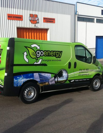 Go Energy - Decoração de Viaturas - Vehicle Decor