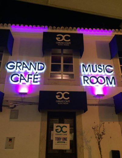 Grand Café - Iluminação / LED - Lighting / LED