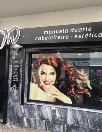 Manuela Duarte Cabeleireira - Montras e Fachadas - Window Dressing