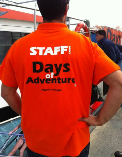 Days of Adventure - Vestuário Promocional - Promotional Clothing