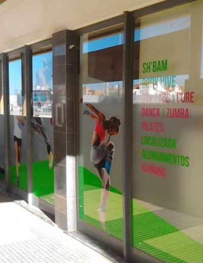 Vivafit - Montras e Fachadas - Window Dressing