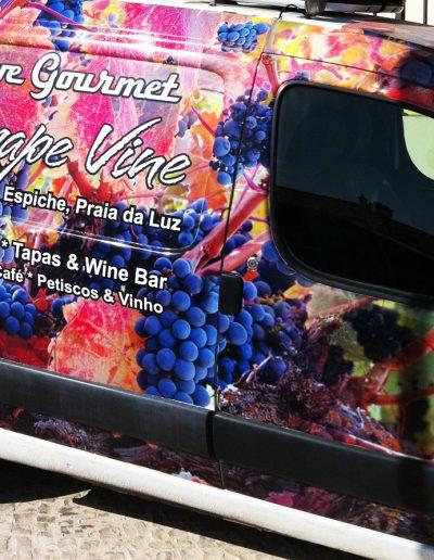 The Grape Vine - Decoração de Viaturas / Vehicle Decor